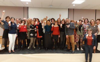 Swiss Serious Game/Brochet-Teambuilding anime avec succès partagé la soirée festive des Vœux du club lyonnais des Assistantes de Direction CLASS le 10 janvier 2020 !