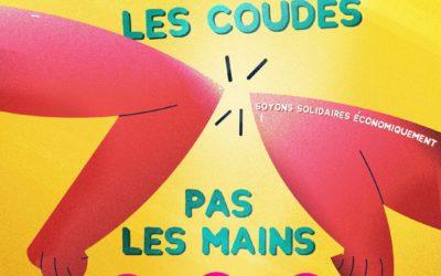 """Swiss Serious Game prend part à la campagne de solidarité économique """"Serrons-nous les coudes pas les mains"""" pour surmonter la crise du COVID-19 !"""